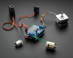 <b>Motor</b>/Stepper/Servo <b>Shield for</b> Arduino Kit - v2.0 (ADAFRUIT ...
