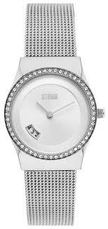 <b>Наручные часы</b> STORM Cyro Crystal <b>Silver</b> — купить по выгодной ...