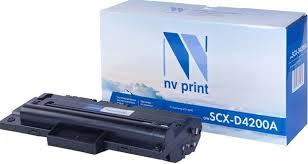 Тонер-<b>картридж NV Print SCX-D4200A</b>, черный, для лазерного ...