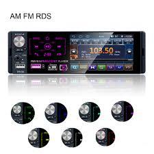 "4.1"" 1 Din <b>Car</b> Stereo Radio MP5 Player <b>Bluetooth</b> In Dash USB ..."