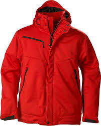 <b>Куртка софтшелл мужская Skeleton</b>, красная — 6275.50 — Брайт ...