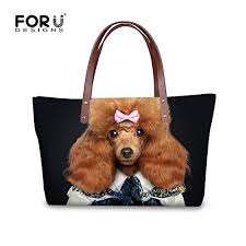 Fashion Animals Dogs Print <b>Women</b> Outdoor Travel Shoulder <b>Tote</b> ...