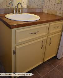 making bathroom cabinets:  images about bathroom countertop ideas on pinterest vanities furniture collection and wooden countertops