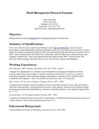 sample resume objectives for business management curriculum sample resume objectives for business management business management resume sample management resume objective examples sample of
