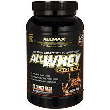 <b>AllWhey</b>, Chocolate, 2 lbs, From AllMax - Walmart.com