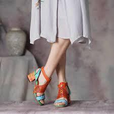 <b>VALLU 2019</b> Retro <b>Women</b> Slippers Ethnic Style Embroidery Slides ...