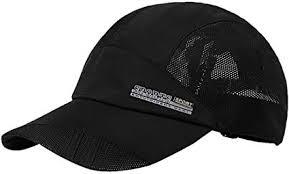 Men's Solid <b>Baseball</b> Hat Cap Mesh <b>Quickly</b>-<b>dry Summer</b> Sun ...