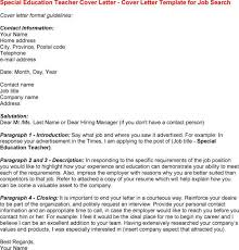 resume cover letter for special education teacher   cover letter    resume cover letter for special education teacher special education teacher cover letter for resume special education