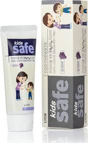 <b>Lion</b> Зубная <b>паста</b> детская <b>Kids</b> Safe со вкусом винограда 90 г ...