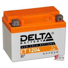 <b>Delta CT</b> 1204 стартерный <b>аккумулятор</b> для мототехники и ...