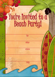 innovative beach party invitation template com outstanding summer beach party invitation template in luxurious article