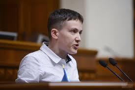 Савченко допустила добрососедские отношения Украины с Россией