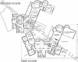 Luxury Two Story Home Floor Plan for Sale   story luxury Floor Plan C