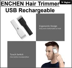 Qoo10 - Xiaomi <b>ENCHEN Boost USB Electric</b> Hair Clipper Two ...