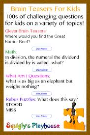 brain teasers riddles puzzles and brain games