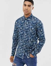 <b>Men's Printed</b> Shirts | <b>Print</b> Shirts For <b>Men</b> | ASOS