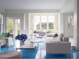 decorations amazing living room design idea of white color theme combine with adorable bright blue floor adorable blue paint colors