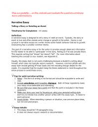 cover letter example narrative essays example narrative essay cover letter best photos of narrative interview essay samples outline examplesexample narrative essays large size