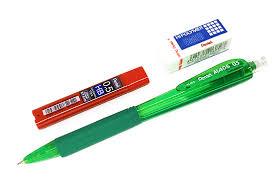 Набор Pentel AL405 зеленый (<b>карандаш</b>, <b>ластик</b> и грифели ...
