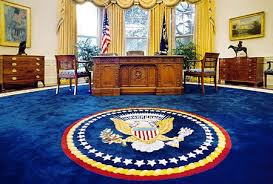 clintons oval office was put a navy blue rug bill clinton oval office rug