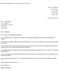 mechanical engineer cover letter good luck with writing your covering letter to apply for positions let us know if you need anything else from us mechanical technician cover letter