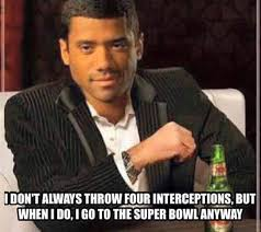 Russell Wilson Dos Equis Super Bowl XLIX Meme | Sports Unbiased ... via Relatably.com