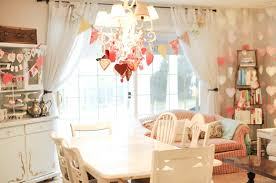 valentine day home decor ideas decorations chic pastel and vintage decoration with chic love decor fo