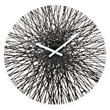 <b>Часы настенные Silk</b> чёрного цвета — купить по цене 4650 руб в ...