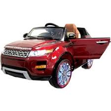 <b>Электромобиль Hollicy Range</b> Rover Luxury Red 12V 2.4G SX118 S