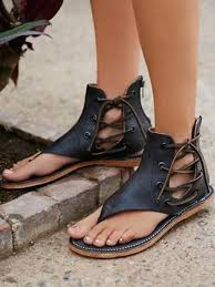 timetang zapato women sandals beaded ladies flip flops bohemia woman shoes comfort beach summer flat