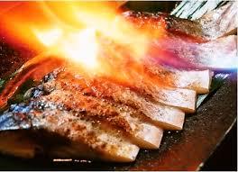 「〆鯖炙り焼」の画像検索結果