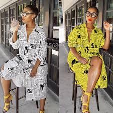 casual print <b>african dresses</b> for women printing ladies dashiki africa ...