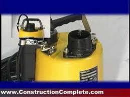 Wacker Submersible Water Pumps - YouTube