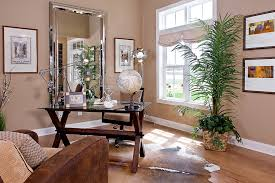 home office by schumacher homes trendy home office photo in other with beige walls medium tone charming office plants
