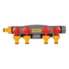 <b>Коннектор HoZelock 2150</b> 4-ходовой для крана с <b>коннекторами</b> ...