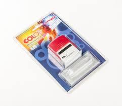 <b>COLOP Штамп самонаборный</b> 3-строчный Printer 20/3 Set 38 ...