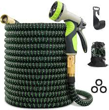 25FT-150FT Plastic <b>Garden Hose</b> Expandable Flexible Water Pipe ...