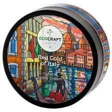 Увлажняющий и питательный <b>крем для тела</b> Ecocraft <b>Red</b> Gold Of ...