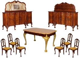 Chippendale Dining Room Table Antique Baroque Dining Set Chippendale Carved Walnut Mag41