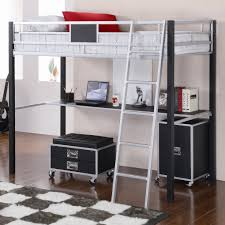 beautiful bunk bed with desk bed with office underneath