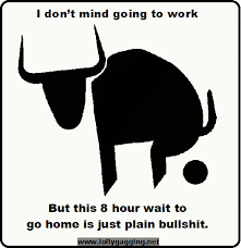 Funny jokes memes photos pictures and signs about work - Lollygagging via Relatably.com