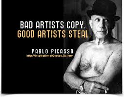 Pablo Picasso Quotes - InspirationalQuotes.Gallery via Relatably.com