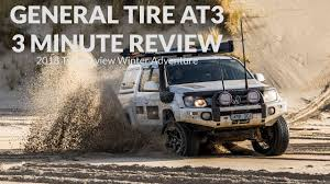 <b>General Tyre AT3</b> - 3 Minute Review - Tyre Review Winter ...