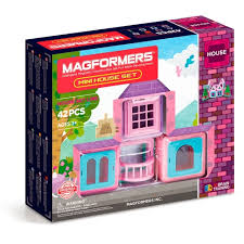 MAGFORMERS MINI HOUSE SET <b>42 PCS</b>