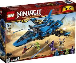 <b>LEGO NINJAGO</b> 70668 <b>Штормовой</b> истребитель Джея <b>Конструктор</b>