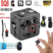 Mini <b>SQ8</b> HD 1080P DV Camera Video Recorder <b>Night Vision</b> DVR ...