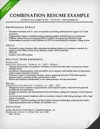 combination resume format example resume format and sample