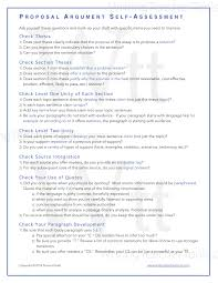 proposal essay writing teacher tools proposal argument self checklist