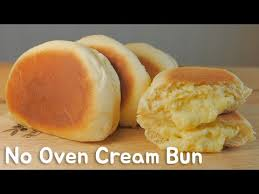No Oven) Cream Bun FOOD VIDEO [스윗더미 . <b>Sweet The</b> MI]