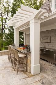 kitchen mediterranean patio outdoor kitchen bar patio beach with entertaining yard lake house